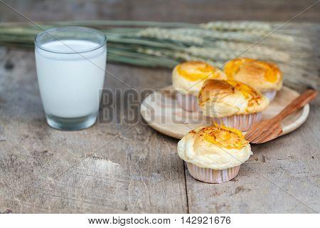 Muffin Golden Threads