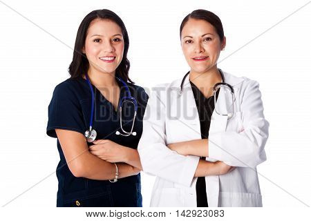 Happy Doctor Nurse Team