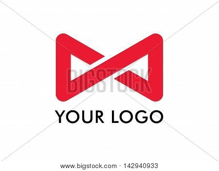 Infinity logo. It works well for if your brand starts with M, N, W, S, Z, Y, X and D.