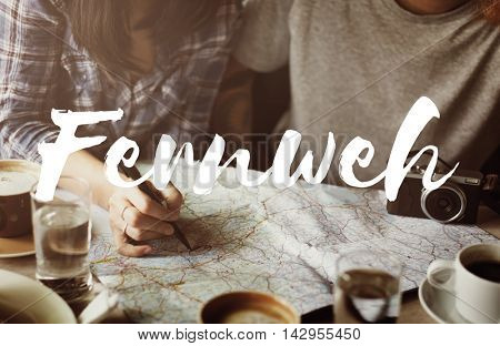 Fernweh Adventure Journey Lifestyle Resting Concept