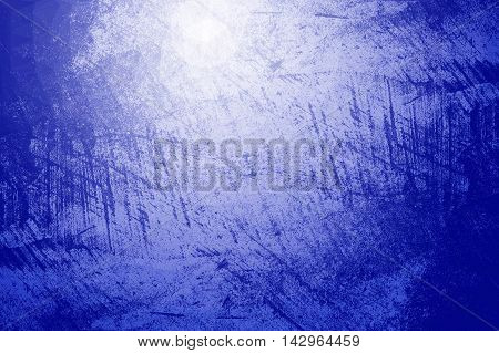 art grunge blue ragged abstract pattern illustration background