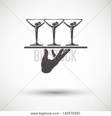 Waiter Hand Icon