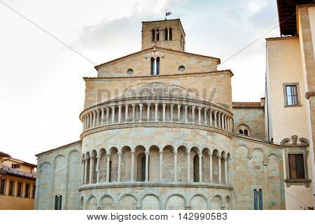 Santa Maria Della Pieve In Arezzo