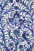 Fajalauza tile glazed wall originally developed in Granada Albaicin District Spain poster