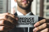 Reduce Energy Consumption poster