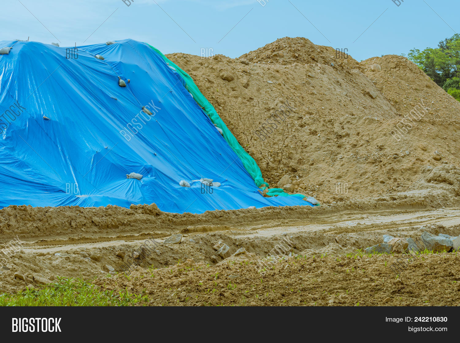 Large Hill Dirt Image & Photo (Free Trial) | Bigstock