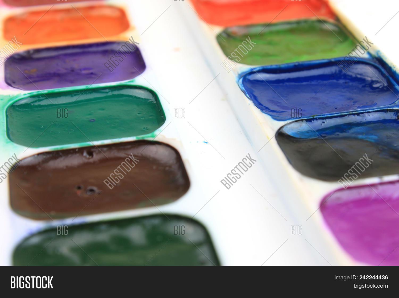 Multi Color Palette Image Photo Free Trial Bigstock