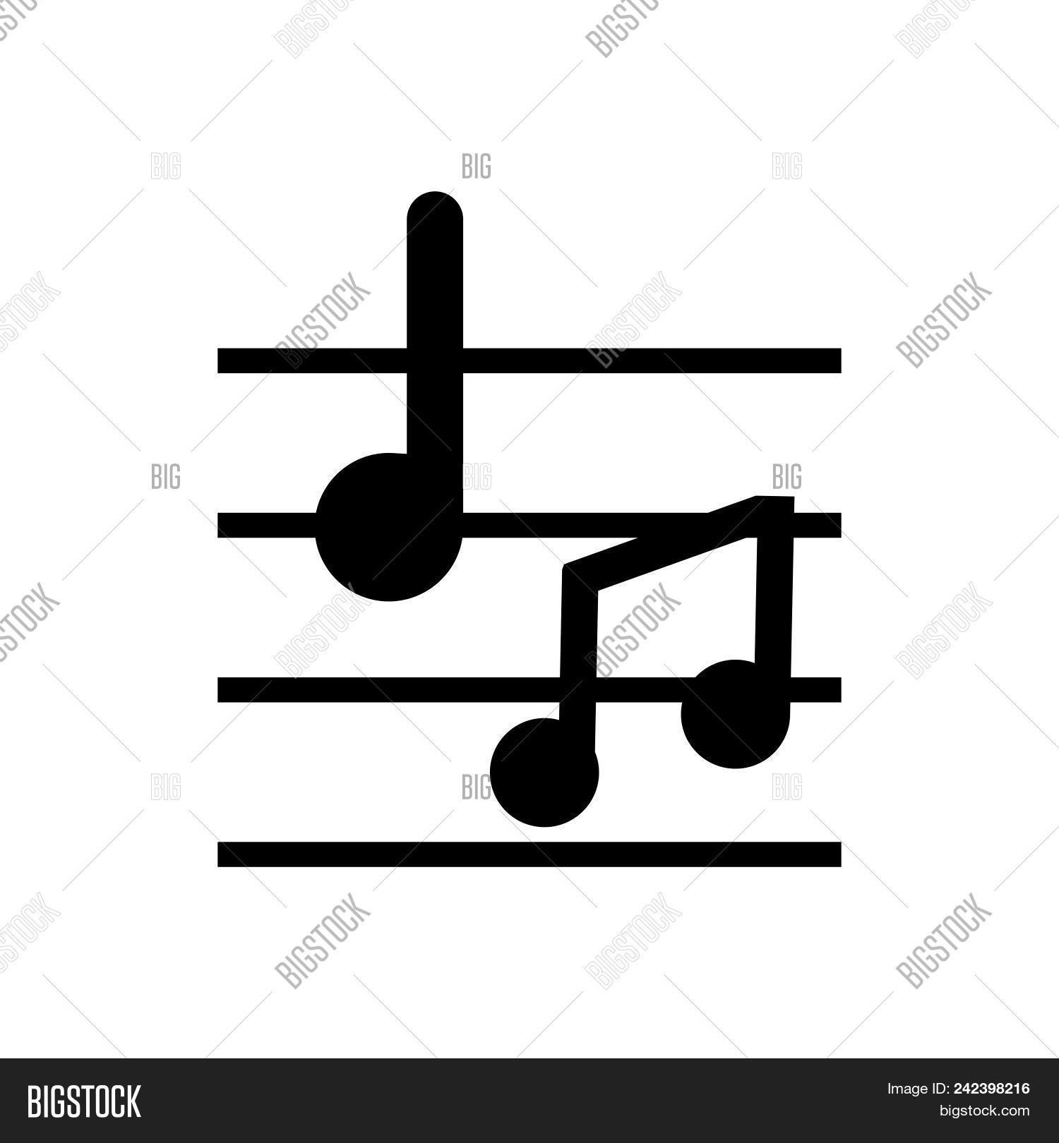 Musical Notes Vector Photo Free Trial Bigstock