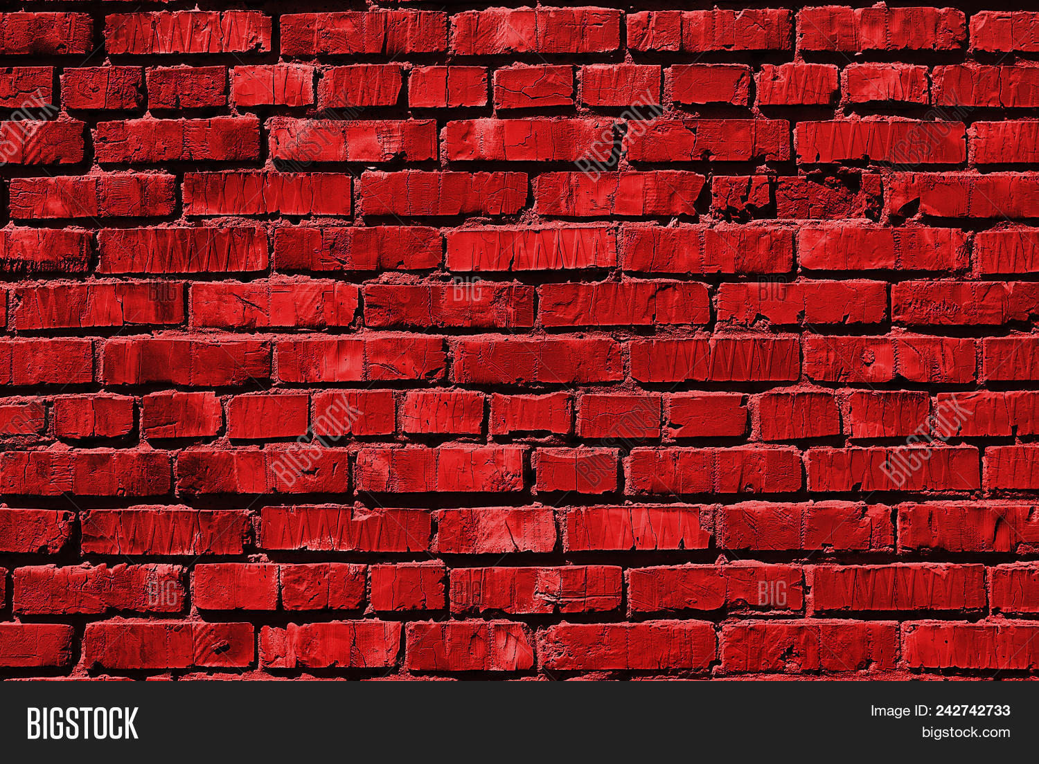 Red Brick Wall Red Image Photo Free Trial Bigstock
