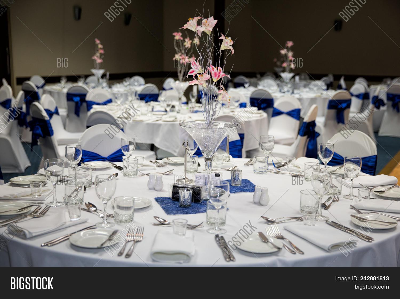 Wedding Reception Set Image Photo Free Trial Bigstock