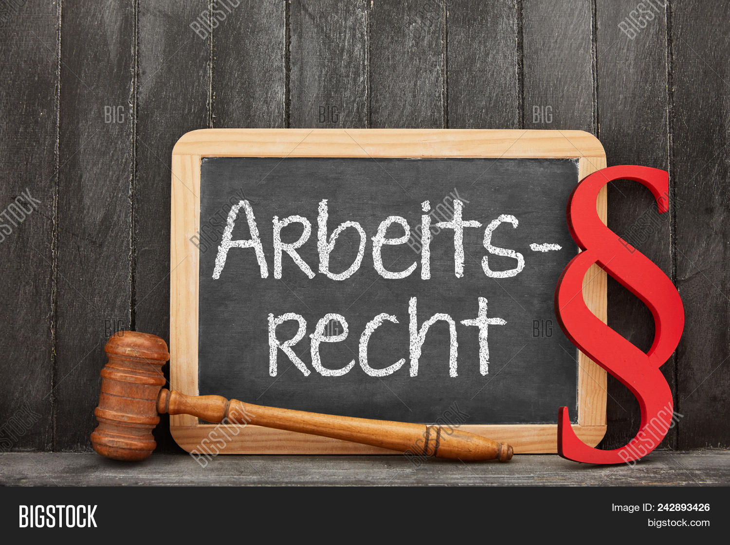 Blackboard German Word Image & Photo (Free Trial) | Bigstock