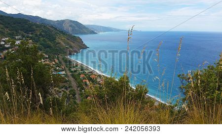 Gulf Of Capo Calava At Sicily At Italy