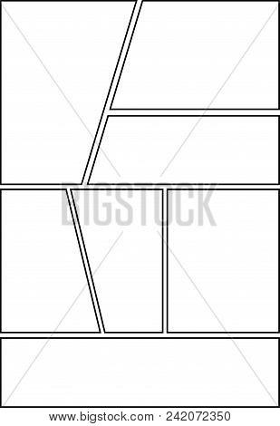 Comic Storyboard Layout 18 Vector Photo Bigstock