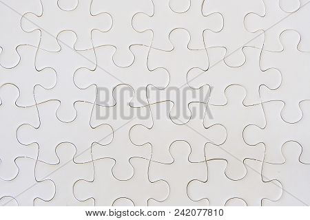 Jigsaw Puzzle Game Piece Isolated On White Background For Analytical Problem Solving And Strategy Co