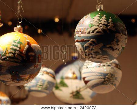 Hanging Christmas Decorations