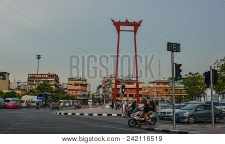 Giant Swing In Bangkok, Thailand