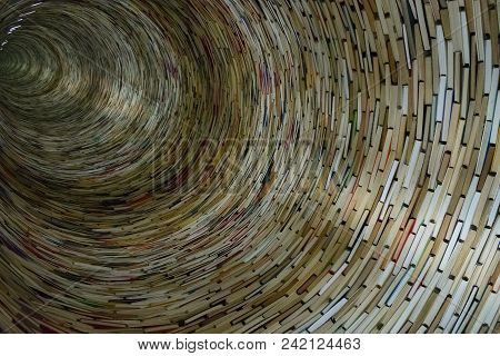 The Book Laid Out A Tunnel As Well, Background Of The Books