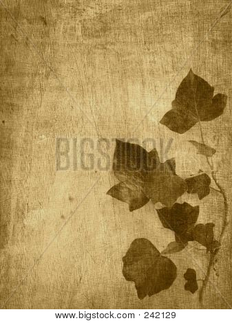 Brown Leaf Background