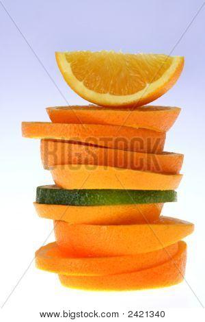 Oranje segmenten