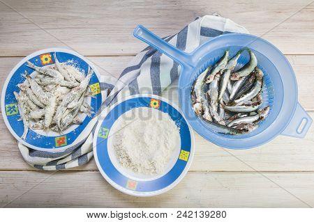 Flourishing Sardines To Cook Them Fried