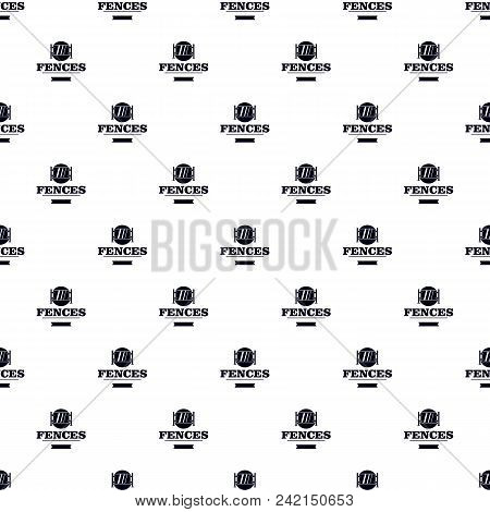 Fence Glass Pattern Vector Seamless Repeat For Any Web Design