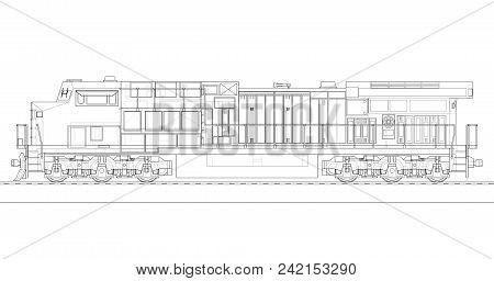 Modern Diesel Railway Image & Photo (Free Trial) | Bigstock
