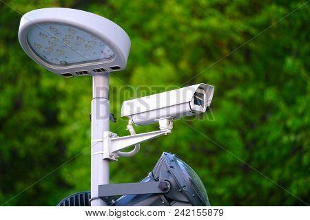 the image of a Surveillance camera