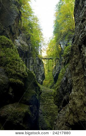 Bridge Over A Deep Ravine