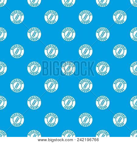 Bijouterie Luxury Pattern Vector Seamless Blue Repeat For Any Use