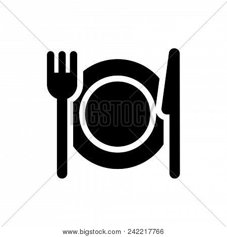 Food Vector Icon Flat Style Illustration For Web, Mobile, Logo, Application And Graphic Design. Food