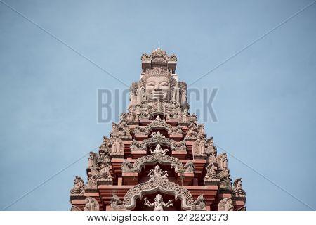 Thailand Isan Surin City Pillar Shrine