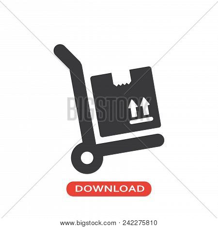Box Package Vector Icon Flat Style Illustration For Web, Mobile, Logo, Application And Graphic Desig