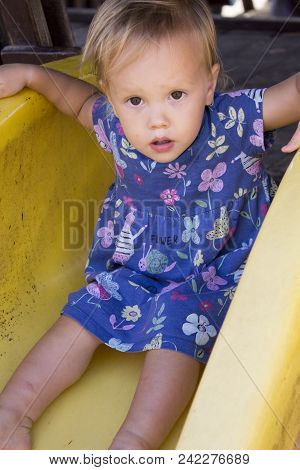 Little Serious Toddler