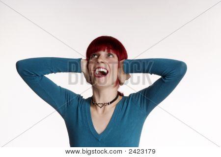 Woman Cries