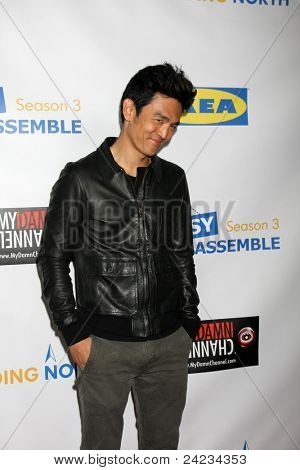 LOS ANGELES - OCT 10:  John Cho arriving at the Web-series