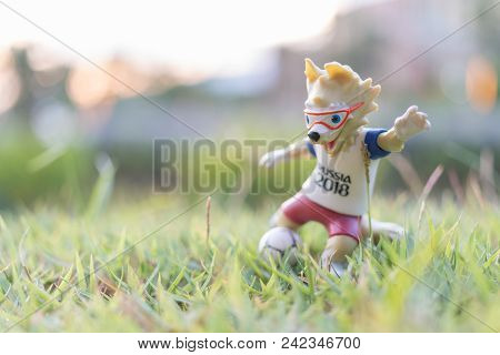 Wolf Zabivaka , The Official Mascot Of The 2018 Fifa World Cup