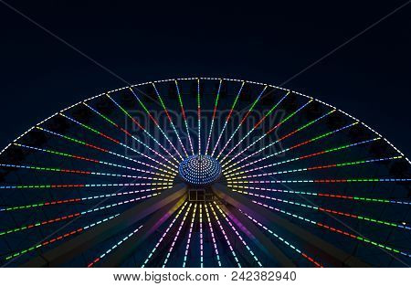 Giant Wheel Ferris Wheel At Wildwoods Boardwalk