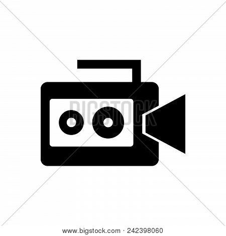 Video Camera With Handle. Video Camera Icon. Video Camera Icon. Video Camera Icon. Video Camera Icon