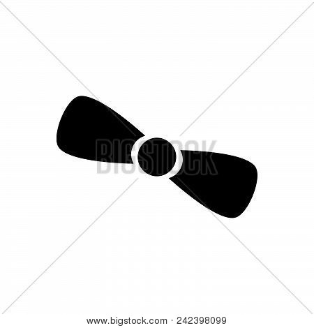Bow Vector Icon On White Background. Bow Modern Icon For Graphic And Web Design. Bow Icon Sign For L
