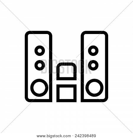 Audio Player Outlined Symbol Of Music Player. Audio Player Icon. Audio Player Icon. Audio Player Ico