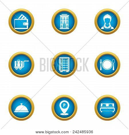 Cash Benefit Icons Set. Flat Set Of 9 Cash Benefit Vector Icons For Web Isolated On White Background