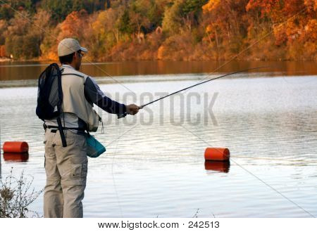 Casting In Autumn
