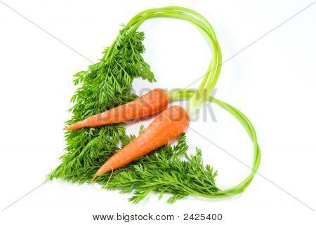 Love Shape Carrot