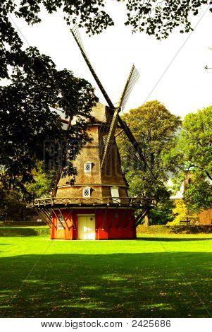 Mill At Kastellet - Copenhagen