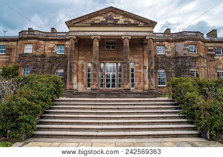A View Of Steps Leading To Hillsbourough Castle.
