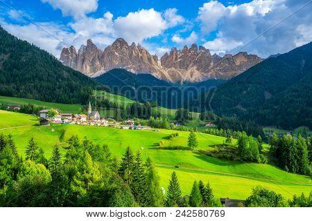 Santa Maddalena - Dolomites , Italy Landscape