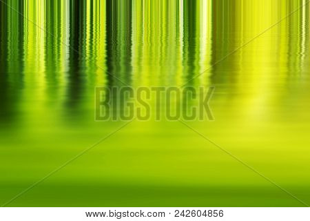 Shadow And Light - Abstract Green Background