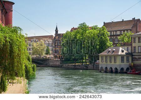Petite France district. Strasbourg, France