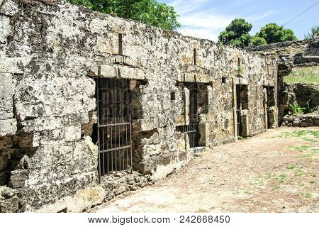 Old Prison In The Ancient Fortress Of The Island Of Zakynthos. Greece