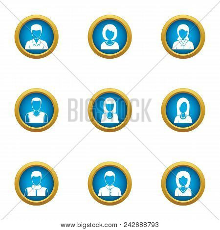 Personal Skill Icons Set. Flat Set Of 9 Personal Skill Vector Icons For Web Isolated On White Backgr